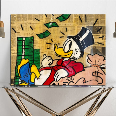 Mcduck Canvas Posters