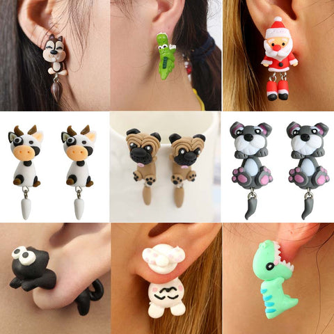 Cute Animal Earrings