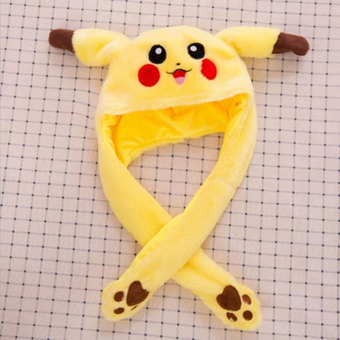Pikachu And Rabbit Hat With Ears