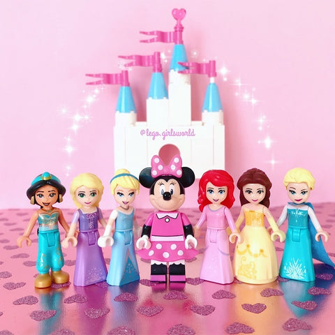Disney Playmobil and Legoed Figures