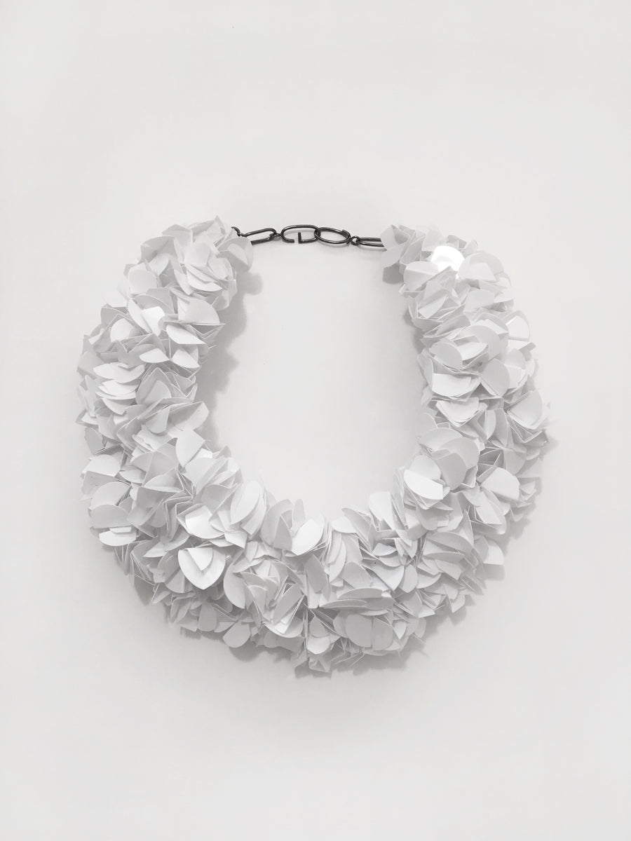 Utopia Palette White Fluffy Necklace