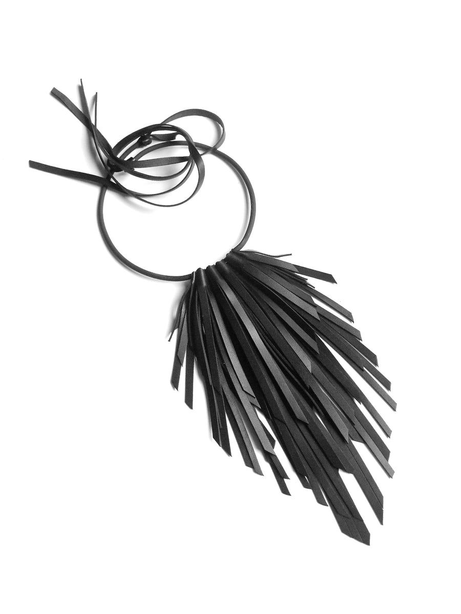 Small Crow Necklace