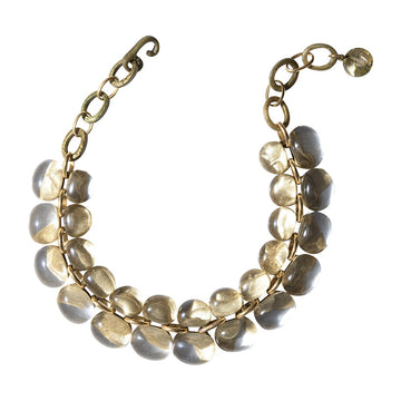 Andrea Necklace- River Gold