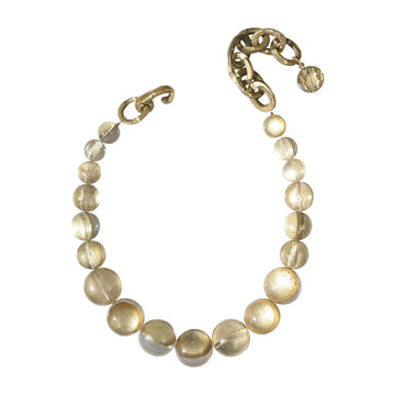 Grace Necklace- River Gold