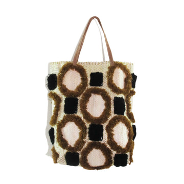 Large Recycled Tote- Brown