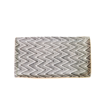 Small Chevron Stacking Tray