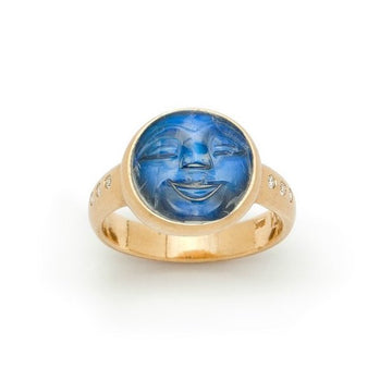 Moonface Ring