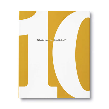 The 10 Book: What's On Your Top 10 List?