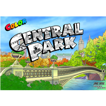 Color Central Park coloring book