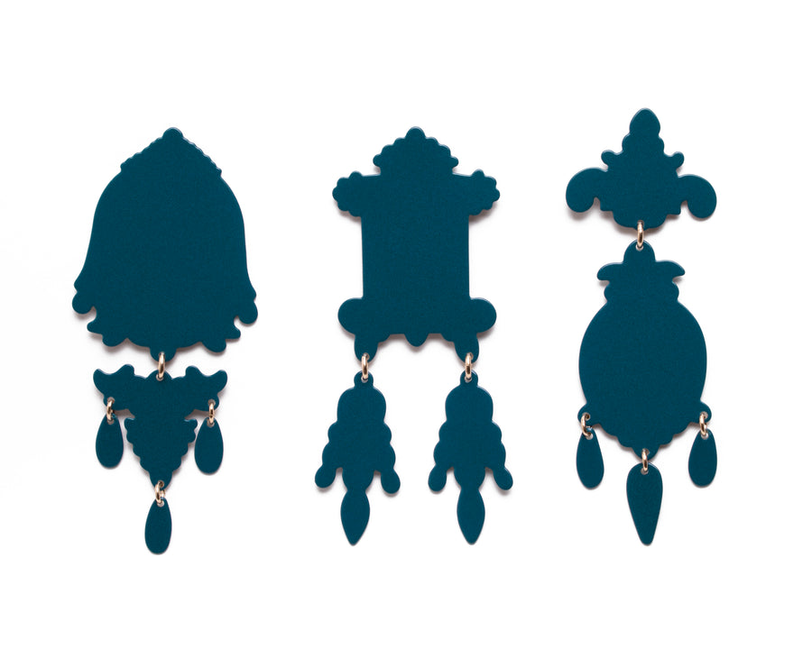 3 Piece Chandelier MAX Earring Suite