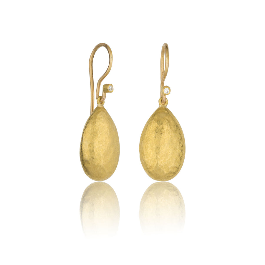 Amanda Medium Almond Earrings