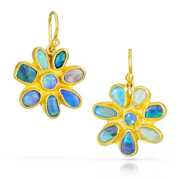 Molten Flower Earrings