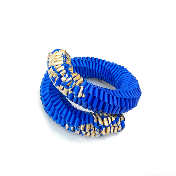 Solida Molla Bracelet with Gold Leaf