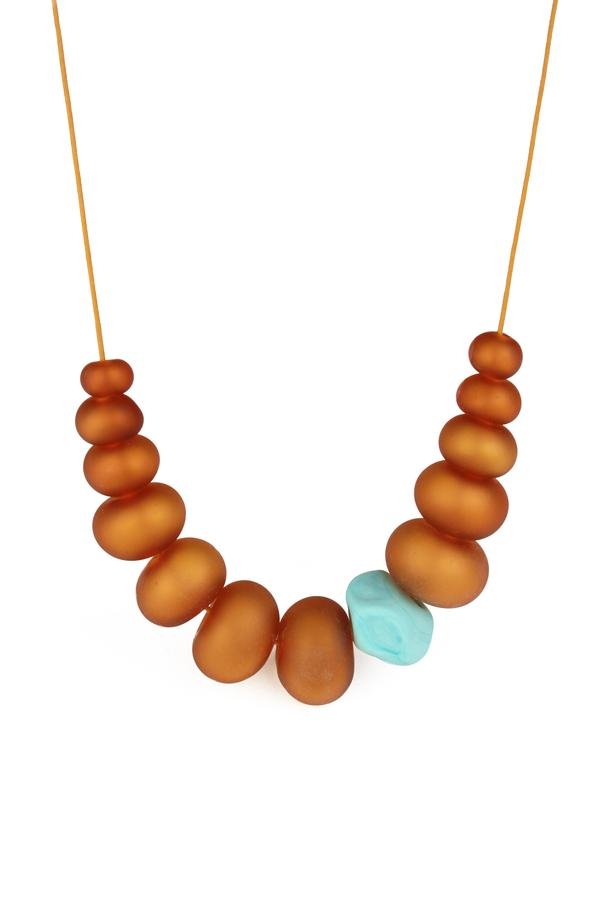Bubble and Nugget Necklace