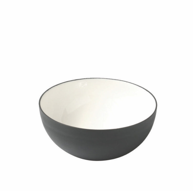 Small Enamel Serving Bowl