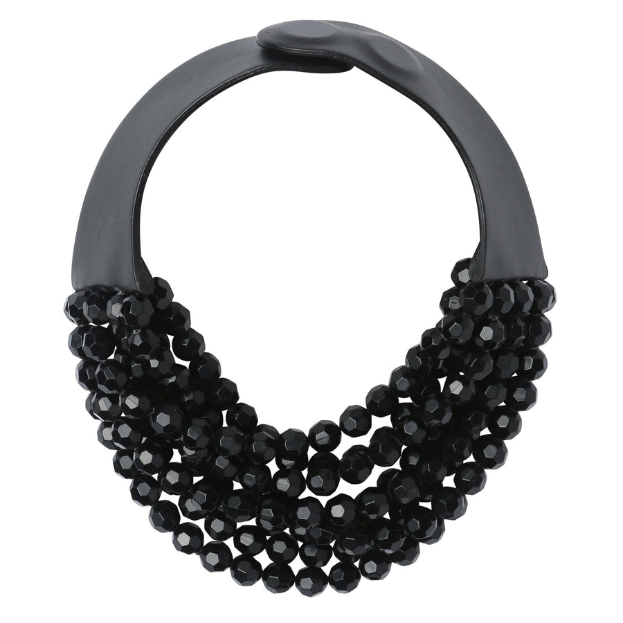 Jet Black Bella Necklace
