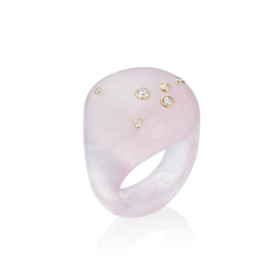 Mini Pink Bubble Ring