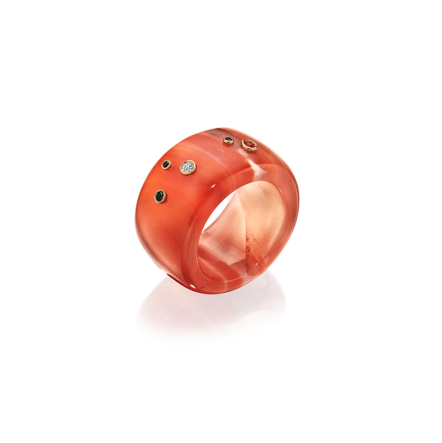Carnelian Enchanted Donut