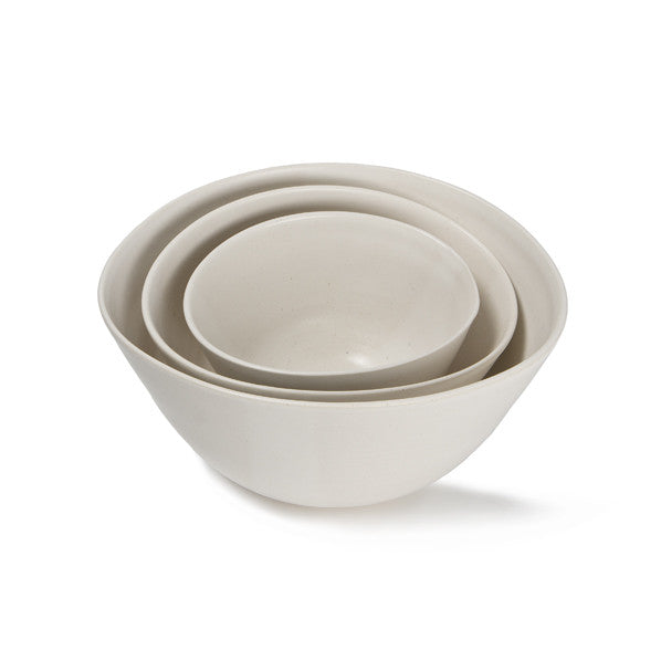 White Stacking Bowl - Large