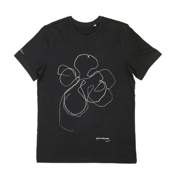 Brian Clarke Night Orchid T-shirt