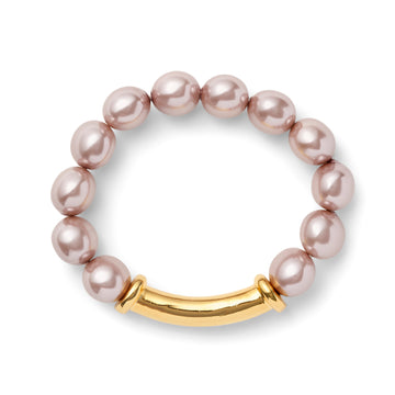 Blush Pebble Bracelet