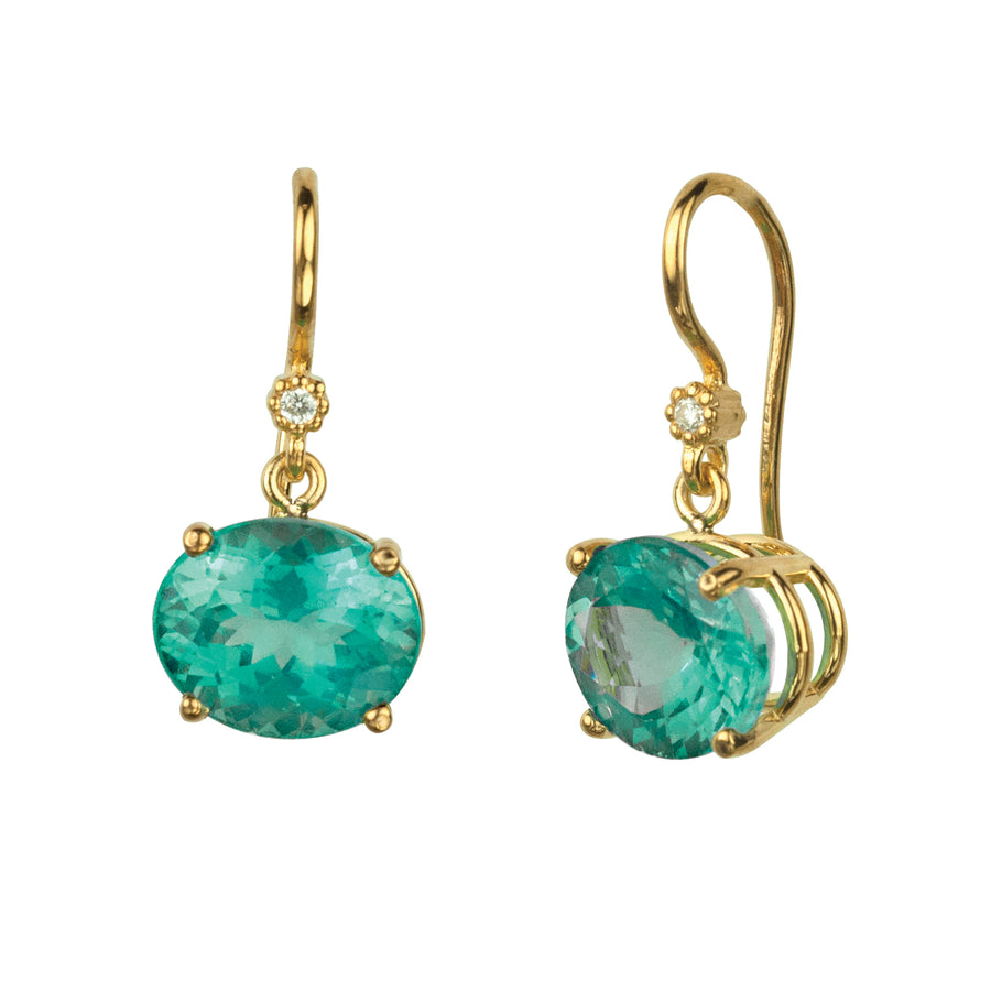 Cindy Apatite Earrings