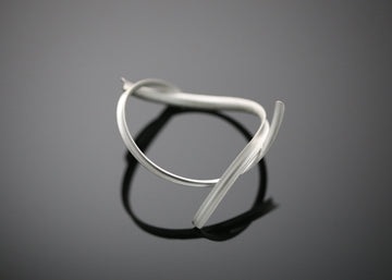 Silver Wind Simple Bangle