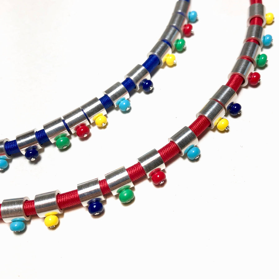 Multi-Color Slide Necklace