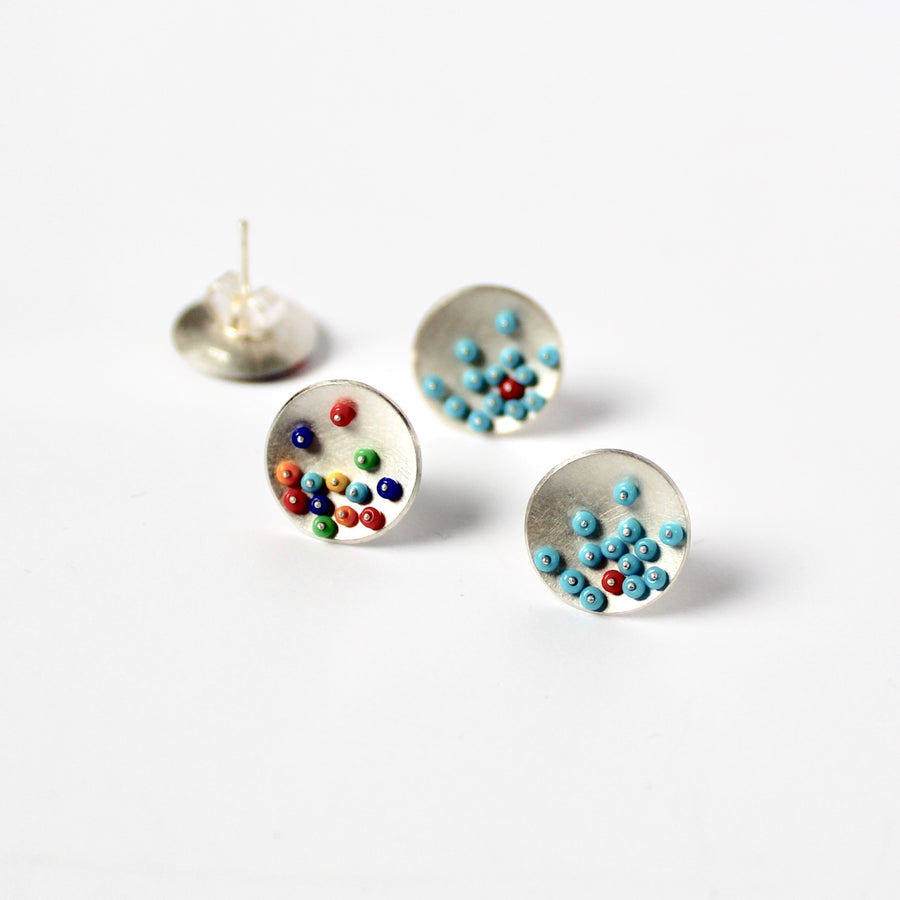 Small Cup Ear Studs