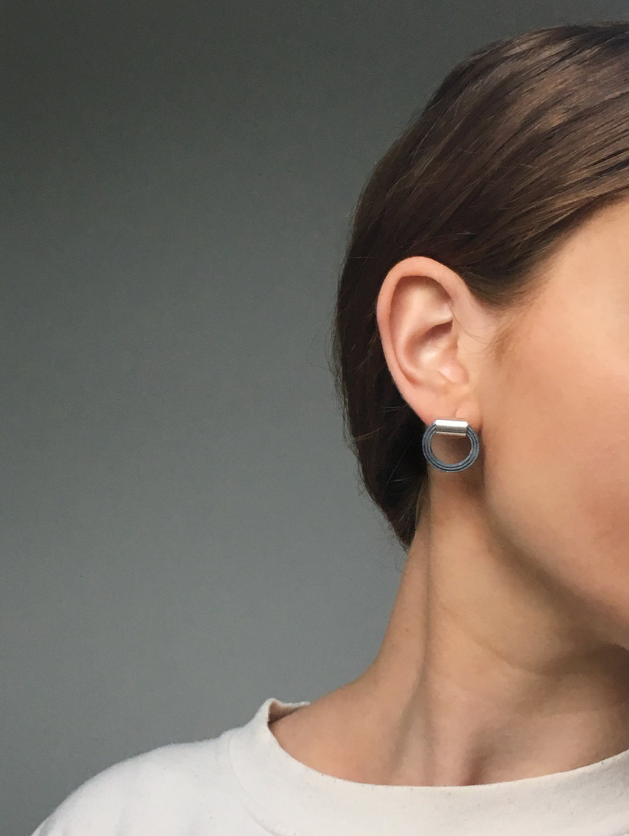 Cable Earrings