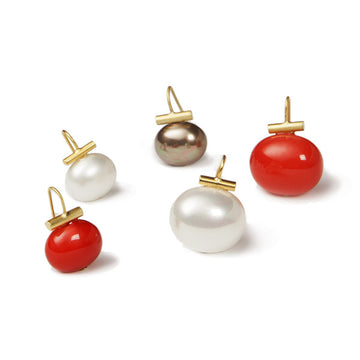 Ear Pebble Earrings - Medium