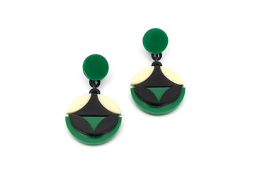 Circa Natura Geo Drop Earrings
