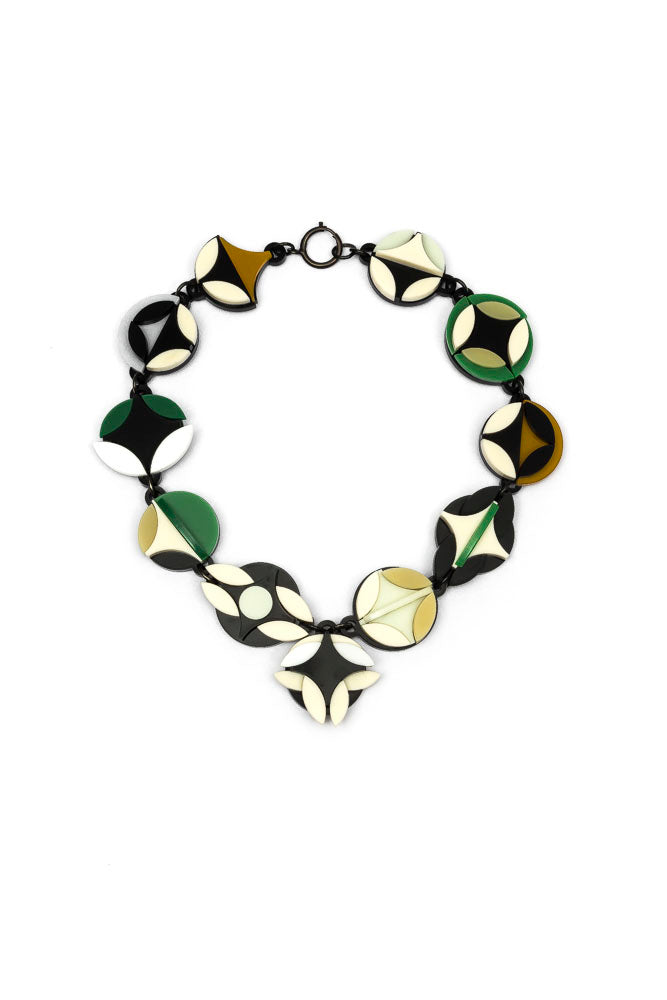 Circa Natura Green Necklace