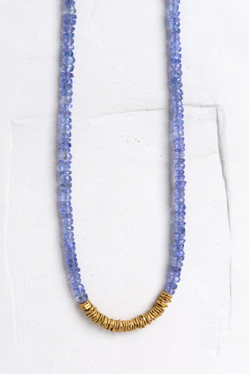 Classic Gemstone Necklace in Sapphire