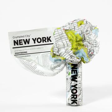 NYC Crumpled City Map