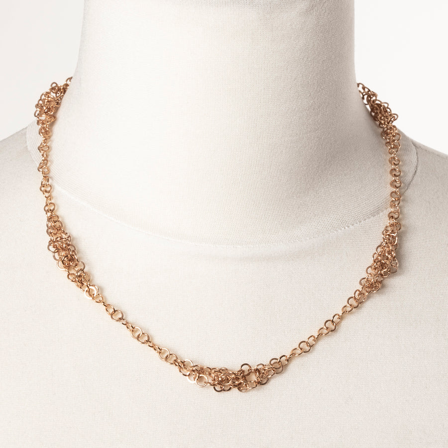 Darrow Necklace- Rose Gold