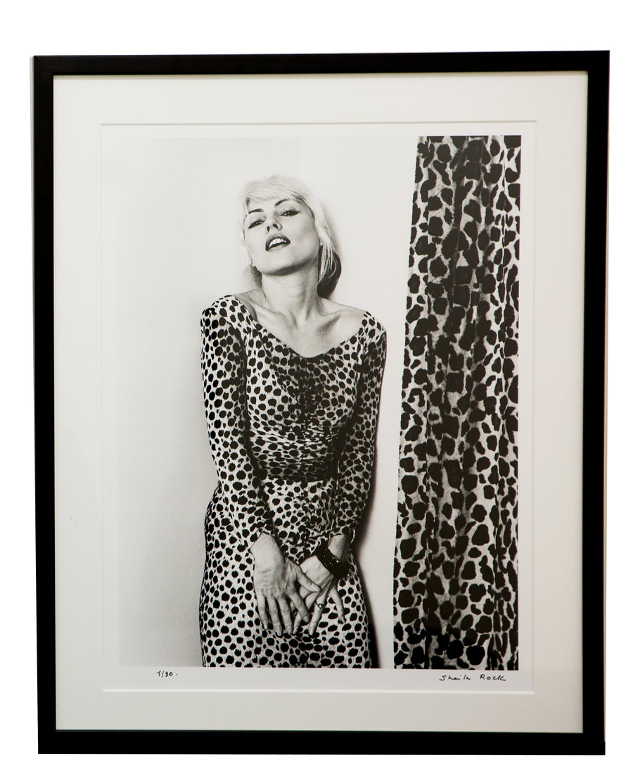 Framed Debbie Harry Photograph