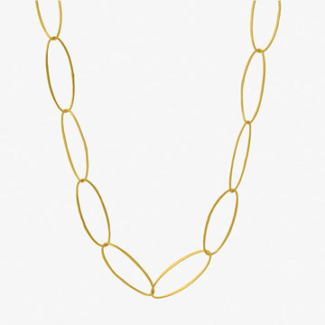 Oval Links Necklace - 44