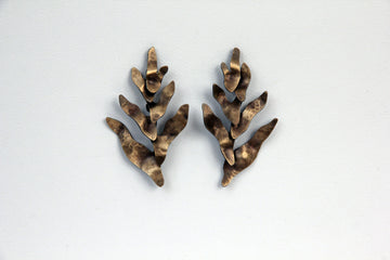 BROMELIA DORADA Earrings
