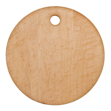 Round Birds Eye Maple Board 14