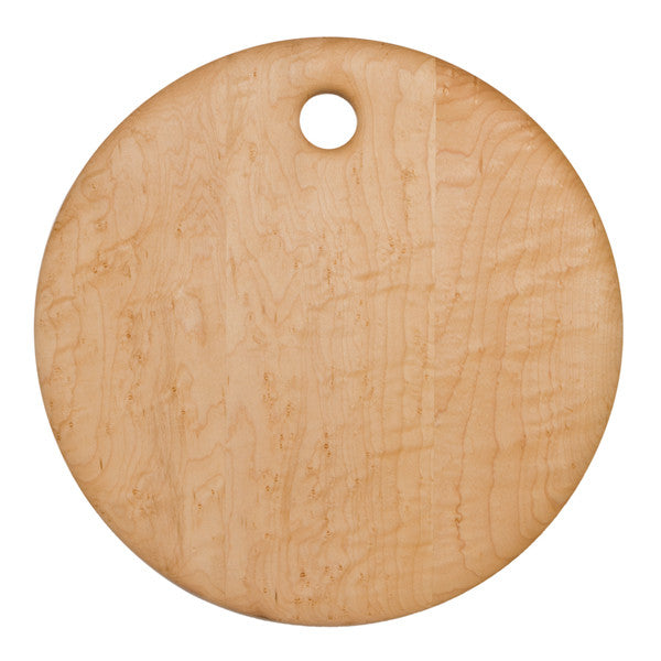 Round Birds Eye Maple Board