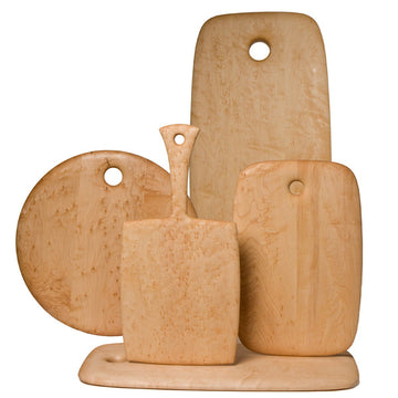 Set of 5 Bird's Eye Maple Boards