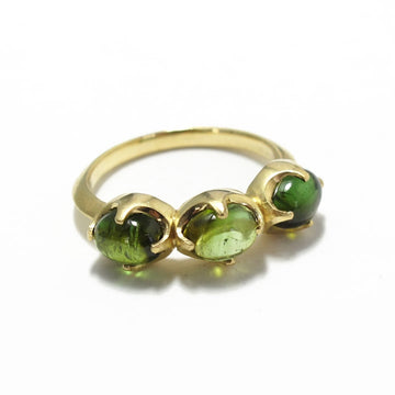 Tourmaline Triple Claw Setting Ring