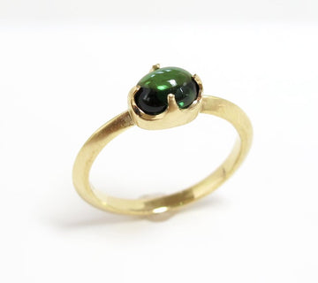 Tourmaline Single Claw Ring