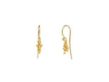 Boucle Gold Charm Earrings