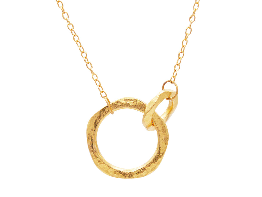 Thor Gold Front Focus Necklace