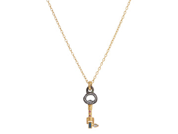 One of a Kind Honorata Key Necklace