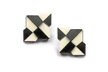 Gloria Fausto Stud Earrings