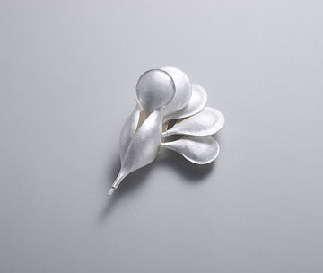Early Spring Blossoming Flower Brooch