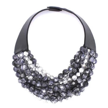 Sabrina Hematite Necklace